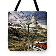 Matterhorn Panorama Tote Bag