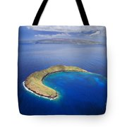 Maui, View Of Islands Tote Bag