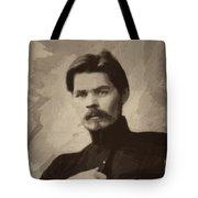 Maxim Gorky Tote Bag