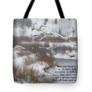 May You Find In Life... Tote Bag