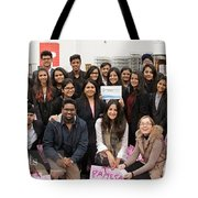 Mba Tour For Students Factory Visits Tote Bag