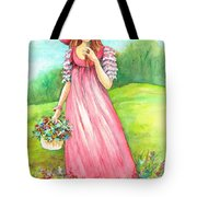 Meadow Maid Tote Bag