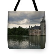 Medieval Castle Tote Bag
