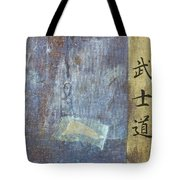 Ethical Code Of The Samurai  Tote Bag