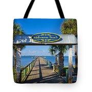 Melbourne Beach Florida Tote Bag