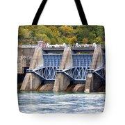 Melton Hill Dam Tote Bag