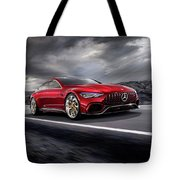 Mercedes A M G   G T Tote Bag