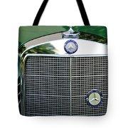 Mercedes Benz Hood Ornament Tote Bag