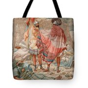Mercy - David Spareth Saul's Life Tote Bag