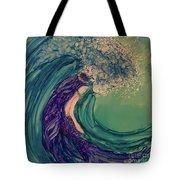 Mermaid Wave Tote Bag