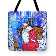 Merry Christmas. Tote Bag