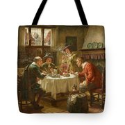 Merry Company In A Dutch Interior Tote Bag