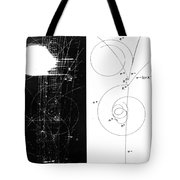 Mesons, Bubble Chamber Event Tote Bag