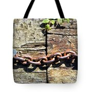 Metal Chain Tote Bag