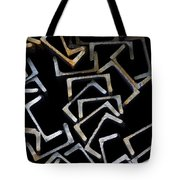 Metal Profile Channel In Packs At The Warehouse Of Metal Products Tote Bag