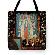 Mexico Our Lady Of Guadalupe Pilgrimage Tote Bag