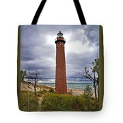 Michigan Lighthouse Tote Bag