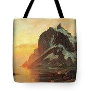 Midnattsol Lofoten Tote Bag