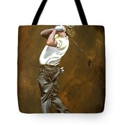 Miguel Angel Jimenez Tote Bag