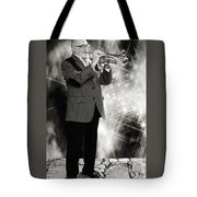 Mike Vax Professional Trumpet Player Photographic Print 3774.02 Tote Bag