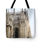 Milan Cathedra, Domm De Milan Is The Cathedral Church, Italy Tote Bag
