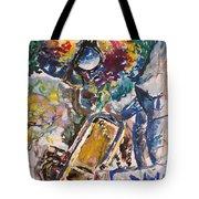 Miles Davis Jazz Tote Bag