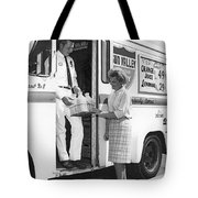 Milkman Home Delivery Tote Bag