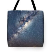 Milky Way And Mars Tote Bag