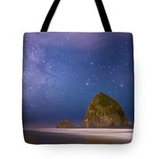 Milky Way Over Canon Beach Tote Bag