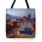 Minneapolis Nights Tote Bag