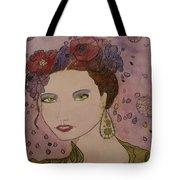 Miss Flore  Tote Bag