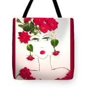 Ramblin' Rose Tote Bag