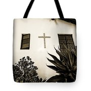 Mission Cross Tote Bag
