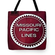 Missouri Pacific Lines Tote Bag