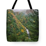 Misty Forest Turkey  Tote Bag