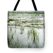 Misty Morning In China Tote Bag