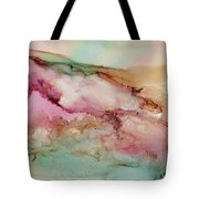 Misty Mountains To The Sea Tote Bag