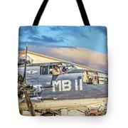 Marine Mitchell B-25 Pbj  Tote Bag
