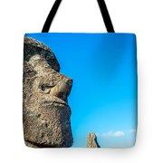 Moai Closeup Tote Bag