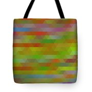 Modern Abstract Mosaic Color Combination 5 Tote Bag