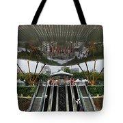 Modern Subway Station Design In Taiwan Tote Bag