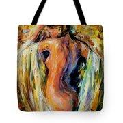 Modest Girl Tote Bag