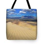 Mojave Kelso Dunes Landscape Tote Bag