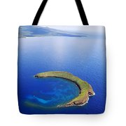 Molokini Aerial Tote Bag