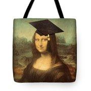 Mona Lisa  Graduation Day Tote Bag