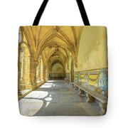 Monastery Of Santa Cruz Tote Bag