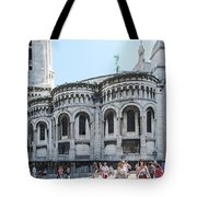 Montmarte Paris Art On The Street Tote Bag