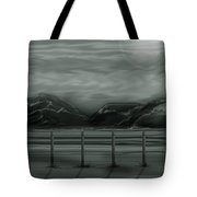 Moon Over The Beartooth Tote Bag
