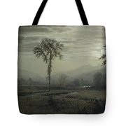 Moonlight On Mount Lafayette Tote Bag