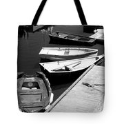 Moored Boats Tote Bag